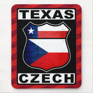 Texas Czech American Mousemat