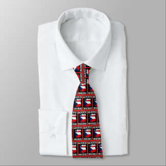 Texas Czech American Tie