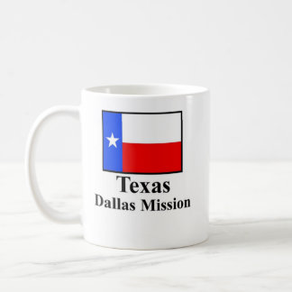 Texas Dallas Mission Drinkware Basic White Mug