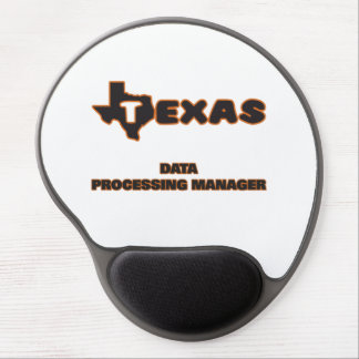 Texas Data Processing Manager Gel Mouse Pad
