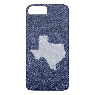 Texas Denim Print iPhone 8 Plus/7 Plus Case