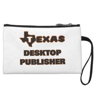Texas Desktop Publisher Wristlet Purse
