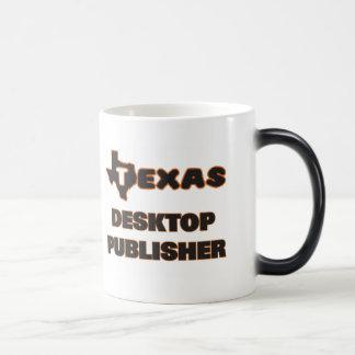 Texas Desktop Publisher 11 Oz Magic Heat Color-Changing Coffee Mug