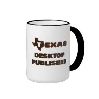 Texas Desktop Publisher Ringer Coffee Mug