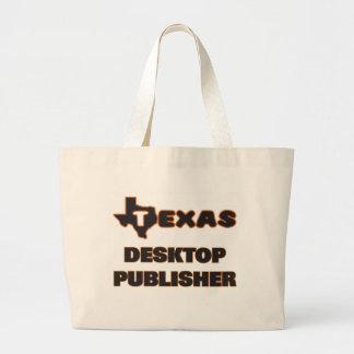 Texas Desktop Publisher Jumbo Tote Bag