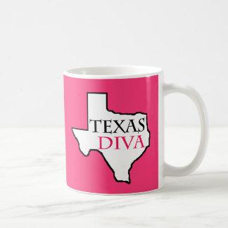 Texas Diva - G.R.I.T. = Girls Raised In Texas Basic White Mug