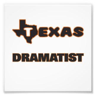 Texas Dramatist Photo Print