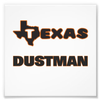 Texas Dustman Photo Print