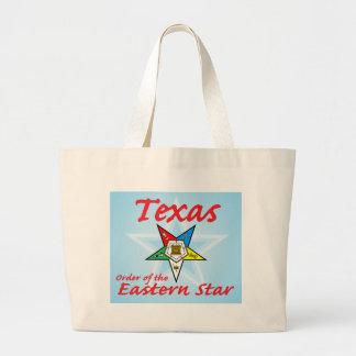 Texas Eastern Star Tote Bags