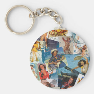 """Texas Eclectic """" Cowgirl Collection No. 2 Key Ring"""