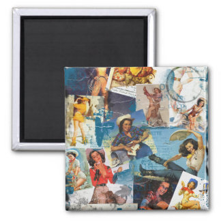 """Texas Eclectic """" Cowgirl Collection No. 2 Magnet"""