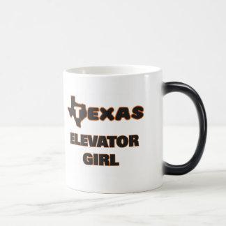 Texas Elevator Girl Morphing Mug