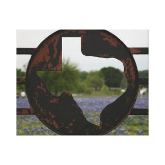 Texas Emblem Gallery Wrapped Canvas