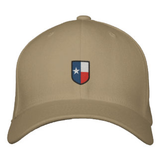 Texas Embroidered Coat of Arms Hat Embroidered Baseball Cap