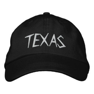 TEXAS EMBROIDERED HATS