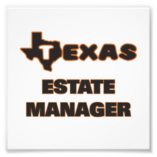 Texas Estate Manager Photographic Print