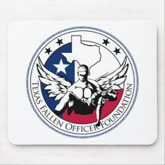 Texas Fallen Officer Foundation Mouse Mat