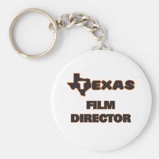 Texas Film Director Basic Round Button Key Ring