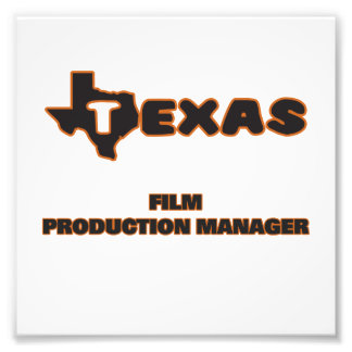 Texas Film Production Manager Photo Art