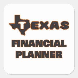 Texas Financial Planner Square Sticker