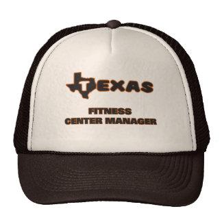 Texas Fitness Center Manager Cap