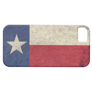 Texas Flag Aged Barely There iPhone 5 Case