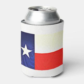 Texas Flag Can Cooler