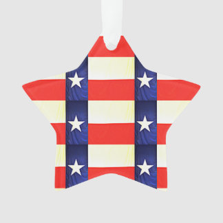 Texas Flag Christmas Ornament