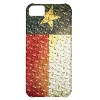 Texas Flag Diamond plated gear iPhone 5C Case