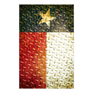 Texas Flag Diamond plated gear Stationery