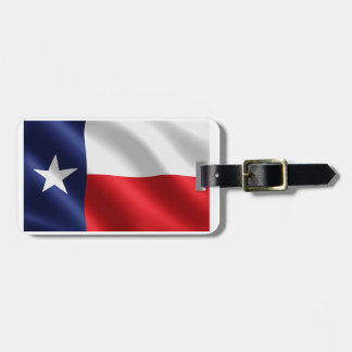 Texas flag for Luggage-Tag-leather-strap Luggage Tag