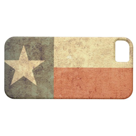 Texas Flag - Grunge Case For The iPhone 5