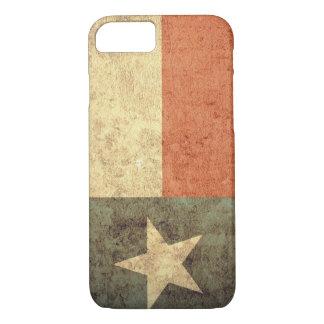 Texas Flag - Grunge iPhone 7 Case