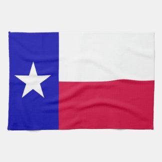 Texas Flag Hand Towels