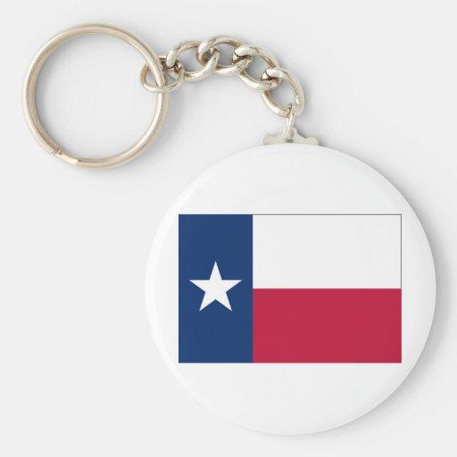 Texas FLAG International Keychain