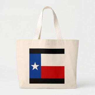 texas flag jumbo tote bag