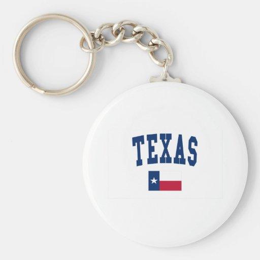 Texas Flag Key Chains