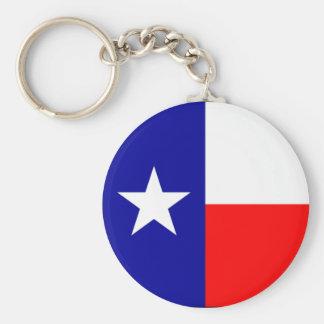 Texas Flag Key Ring