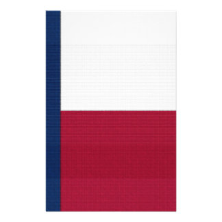 Texas Flag lone star state red white blue colors 14 Cm X 21.5 Cm Flyer