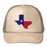 Texas Flag Map Mesh Hats