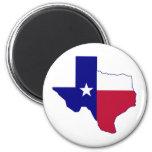 Texas Flag Map Refrigerator Magnets