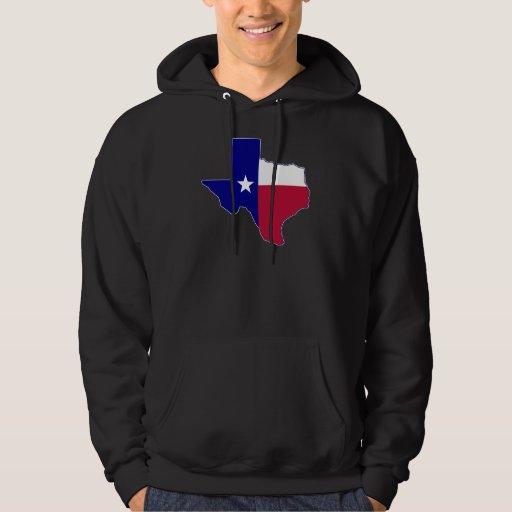 Texas Flag Map Sweatshirt