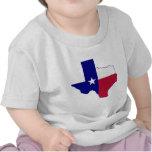Texas Flag Map T Shirt