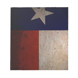 Texas flag notepad