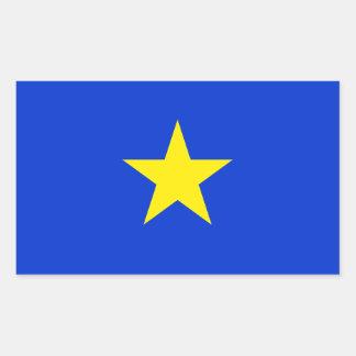 Texas, Flag of Texas (1836–1839) Rectangular Sticker