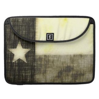 TEXAS FLAG OLD DRAWING MacBook PRO SLEEVES