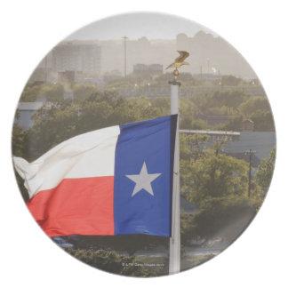 Texas Flag Party Plates