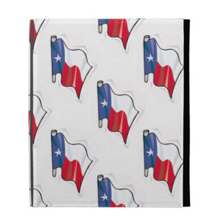 Texas Flag Pattern; Texan iPad Folio Covers