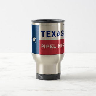 Texas Flag Pipeliner Travel Mug