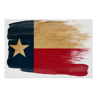 Texas Flag Posters